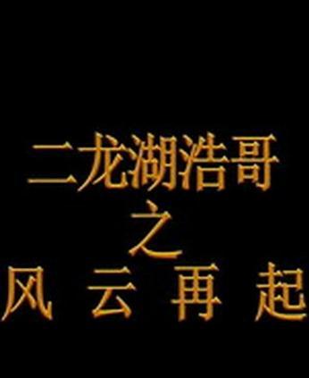 二龙湖浩哥之风云再起720p.HD国语中字